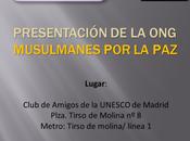 Presentación Musulmanes (MPP) sede Club amigos Unesco Madrid.