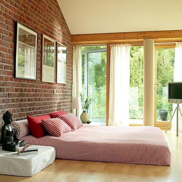 Una casa con paredes de ladrillo paperblog for Paredes de ladrillo para interiores