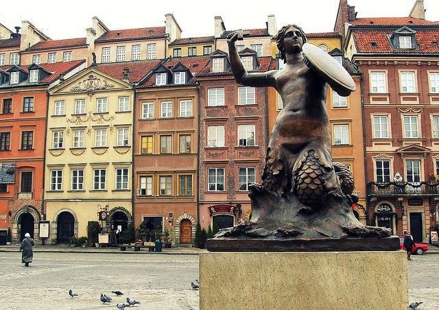Resultado de imagen de La Ciudad Vieja (Varsovia)