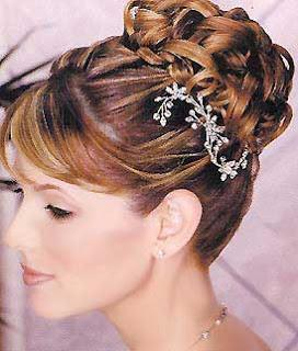 modernos peinados de novias recogidos para el