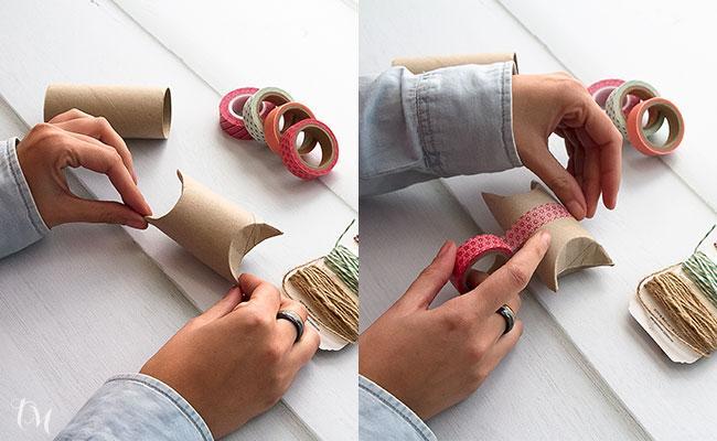 Manualidades con papel una cajita reciclada paperblog - La cajita manualidades ...