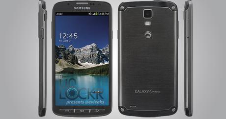 Aparece imagen oficial del Samsung Galaxy S4 Active