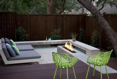 Patios modernos paperblog - Decoracion patios pequenos modernos ...