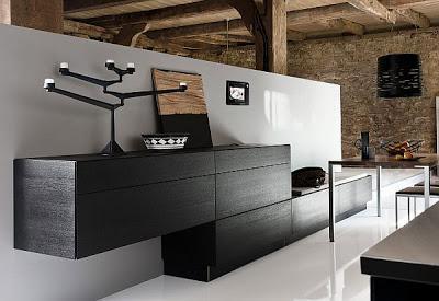 Cocinas modernas en interiores rusticos paperblog - Interiores cocinas modernas ...