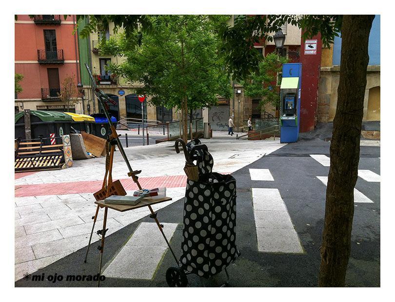 V Concurso de Acuarela al aire libre Manuel Balsa EL RUSO. Bilbao 2013