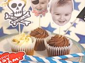 Decoración Fiestas infantiles toppers personalizados