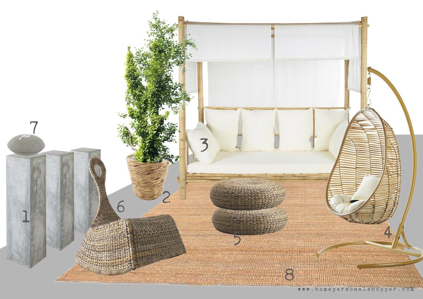 Ideas para nuestras terrazas y jardines nos vamos de for Bancos de terraza y jardin