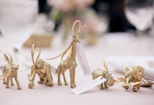 souvenirs dorados para casamientos
