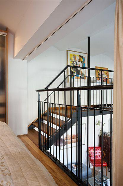 Loft de 67 m de estilo n rdico industrial paperblog for Decoracion tipo industrial