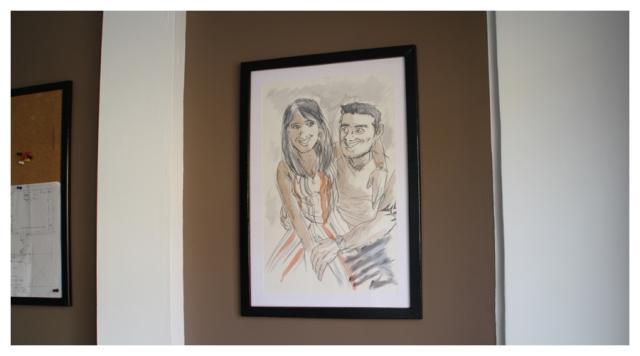 Diy c mo se hace un marco con cart n por erika paperblog - Marcos cuadros baratos ...