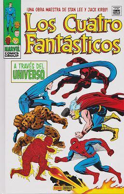 Los Cuatro Fantásticos de Lee&Kirby;: A través del Universo