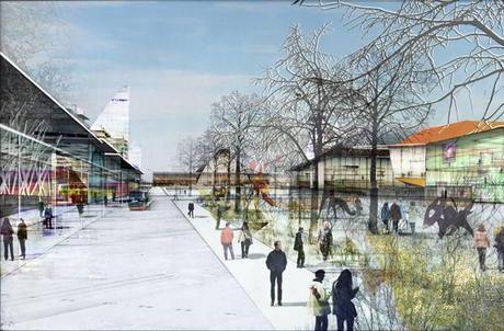 3. Town view 2 Panasonic Smart Towns. Bienvenidos a la Ciudad Ecológica