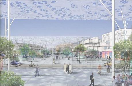 4. Town view 3 Panasonic Smart Towns. Bienvenidos a la Ciudad Ecológica