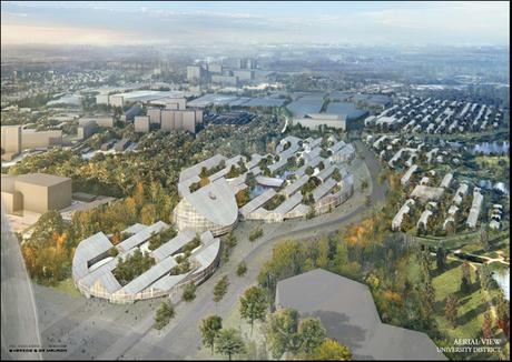 Artists impression 2 Panasonic Smart Towns. Bienvenidos a la Ciudad Ecológica