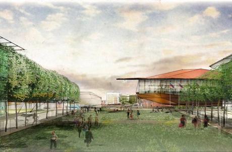2. Town view Panasonic Smart Towns. Bienvenidos a la Ciudad Ecológica