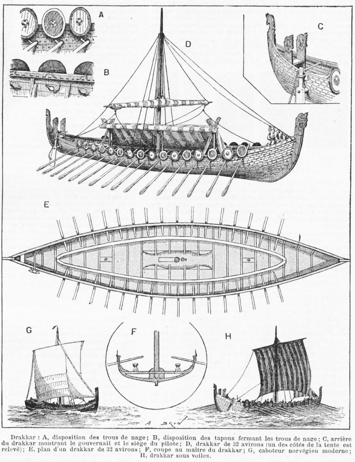 drakkar  el barco vikingo