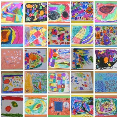 Pintando cuadros abstractos paperblog for Imagenes de cuadros abstractos para pintar