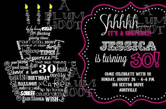 Miércoles de inspiración ♥ Invitaciones para cumpleaños - Paperblog