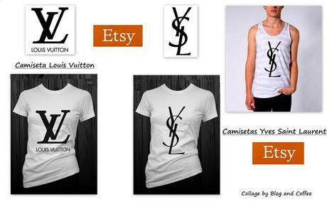 Yo adoro las camisetas con logos: Céline, Chanel, Louis Vuitton e YSL