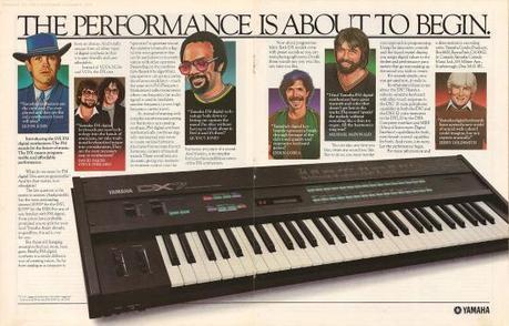 Yamaha DX7 The Performance