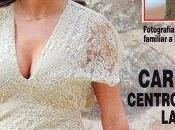 Sara Carbonero, vestida novia boda, portada revista Hola