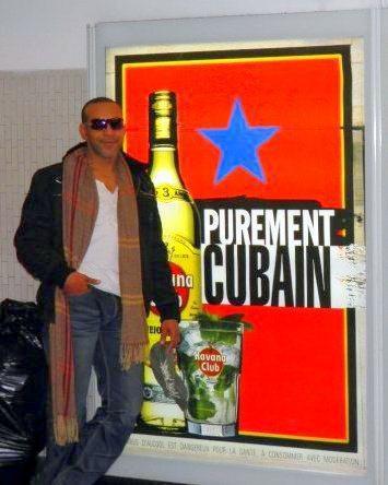 Tony le cubain by Yonny Ribadeneira in Paris