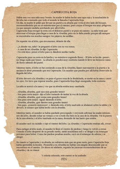 #eldesafio: Caperucita Roja viene a cenar Bizcocho Crumble de Manzana con coulis de frutos del bosque