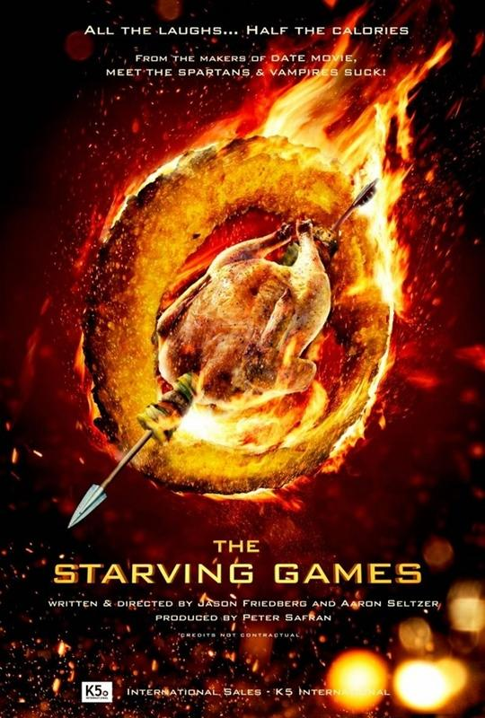 Póster 'The Starving Games'