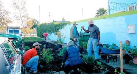 El movimiento LA Green Grounds en acción