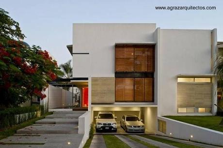 Residencia de estilo Contemporáneo en Villa Real, Zapopan, México