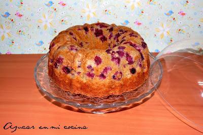 Bundt Cakes de Frambuesas y chocolate blanco