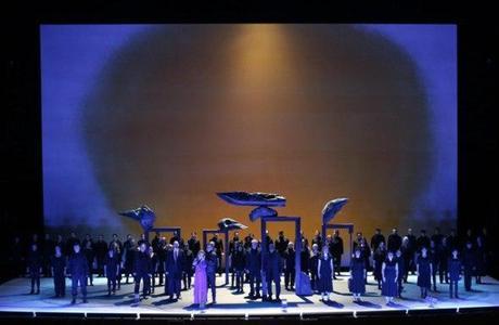 Vista del escenario de Iolanta