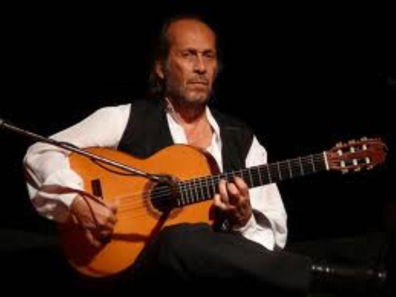 guitarrista algecireño Paco de Lucía