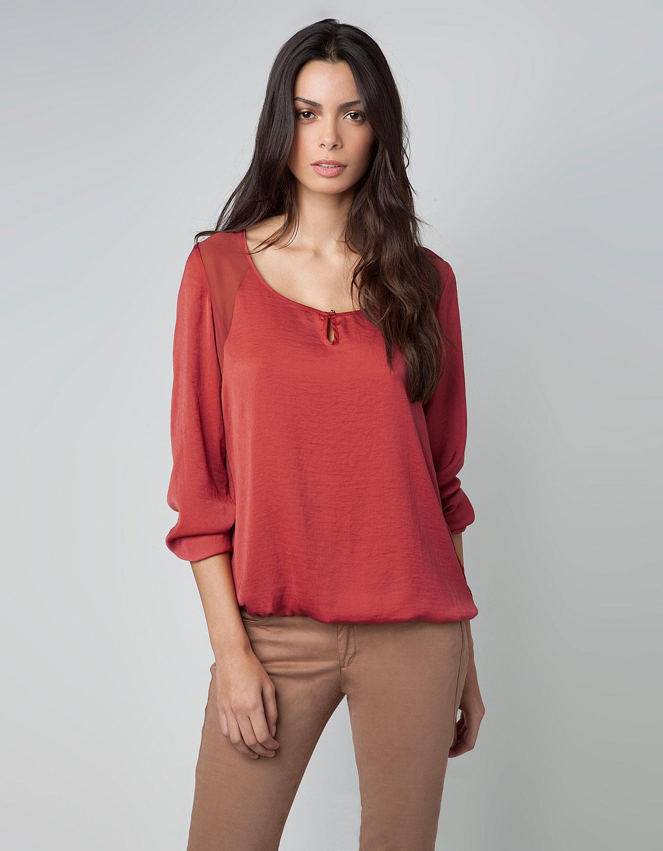 Blusas de moda en la temporada primavera verano 2013