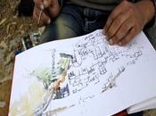 Artistas españoles marroquíes Chauen