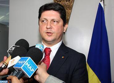 El ministro rumano de Asuntos Exteriores, Titus Corlatean