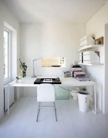 Despacho minimalista paperblog for Decoracion de oficinas y despachos