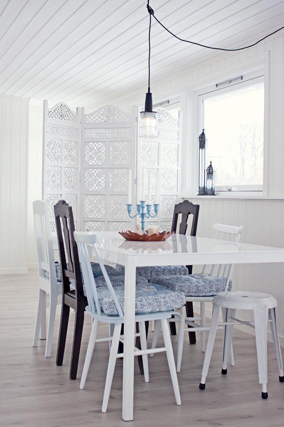 Un comedor nordico con detalles etnicos paperblog - Comedor nordico ...