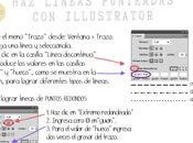 Cómo hacer líneas punteadas illustrator