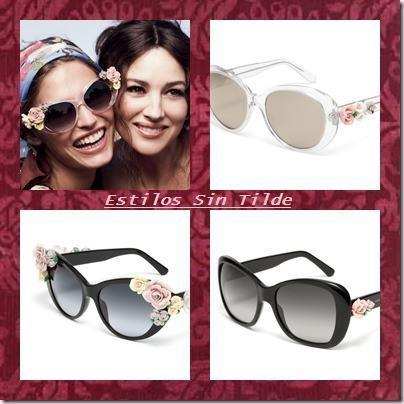 5eb32be89e cats thumb11 Colección Dolce Gabbana Flores: gafas de sol