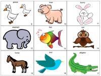 los animales en ingles para ANIMALES EN INGLÉS
