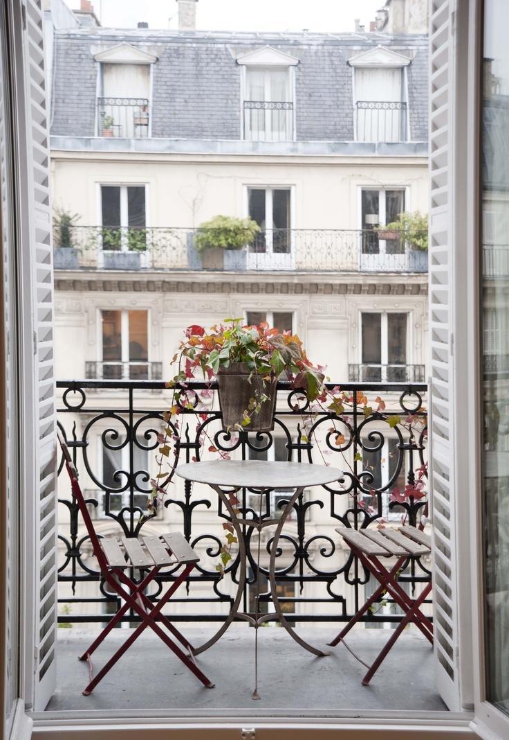 Peque os balcones con encanto paperblog for Jardines en balcones pequenos