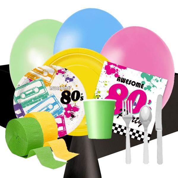 Fiesta a os 80 nuevos accesorios y nuevas ideas para la decoraci n paperblog - Decoracion fiesta 80 anos ...