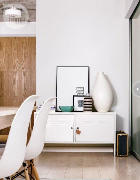 Estilo y funcionalidad en un peque o piso en toronto for Ikea amueblar piso pequeno