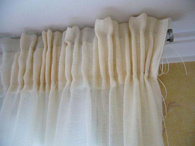 Diy c mo hacer unas cortinas f cil y barato paperblog - Cortinas y visillos baratos ...