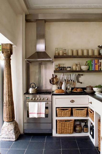 Ideas de almacenaje para cocinas peque as paperblog - Almacenaje de cocina ...