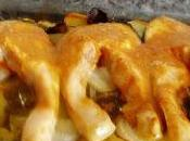 Salmon horno patatas panaderas