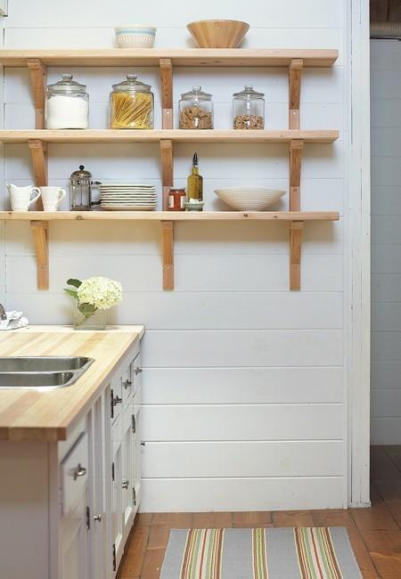 Полки на кухню фото