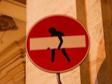 Florencia: señales arte urbano