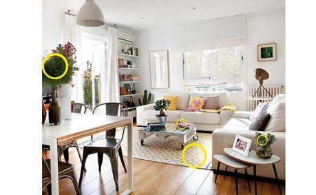 decoración colores Interiores de revista homepersonalshopper